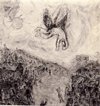 the fall of icarus by chagall