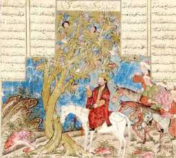Iskandar_(Alexander_the_Great)_at_the_Talking_Tree