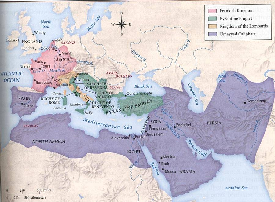 Causes and spread of Islam