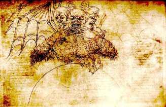 Satan by Botticelli