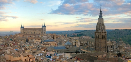 Toledo Spain skyline by Diliff