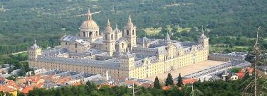 El Escorial palace, Madrid, Spain