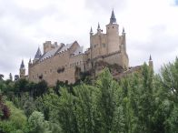 The Castle of Segovia, Madrid, Spain