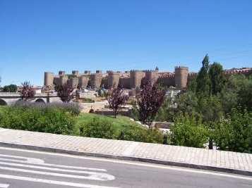 avila spain city wall