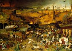 Triumph of Death by Bruegel Madrid