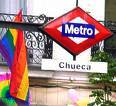 Chueca Subway station downtown Madrid, Spain