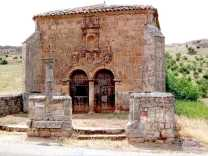 little Romanesque shrine Soria, Spain