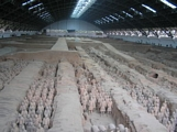 life size clay army