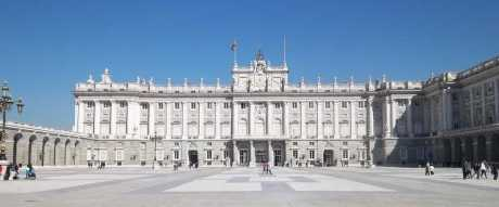 The Royal Palace in Madrid, Spain