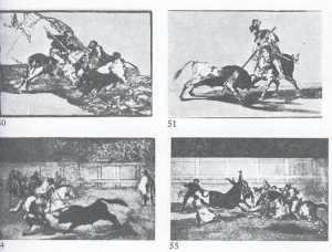 goya bullfight series