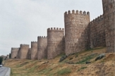city walls of Avila, Madrid, Spain
