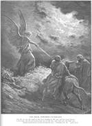 balaam and his donkey meeting the angel