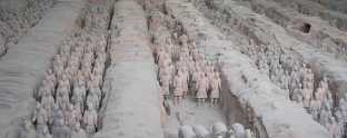 burnt clay army