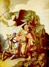 balaam-by-rembrandt