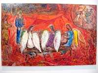 chagall_Abraham and the three angels