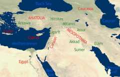 map of ancient middle east
