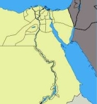 map of nile-river