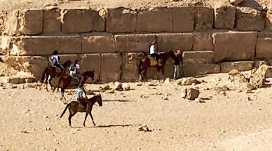 base blocks of pyramid