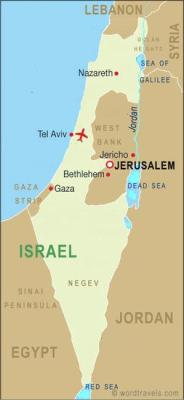 Israel_christmas map