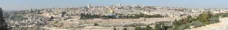 Jerusalem seen from Mount Olives