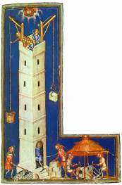 Tower of Babel miniature painting