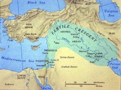 map of fertile crescent
