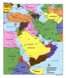 Middle-East-Political-Map-1995 CIA