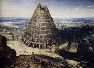 tower of Babel by Valckenborch