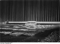 dome of light by speer for a hitler rally