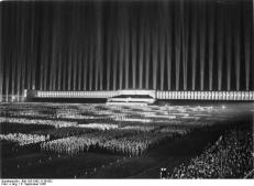 dome of light  for a hitler rally