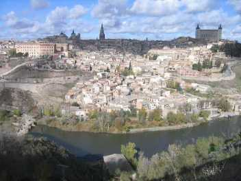 Toledo seen from its parador
