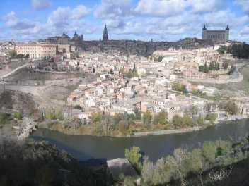 Toledo seen from its parador