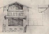 hitler-drawing-house