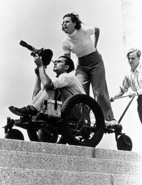 riefenstahl directing her film