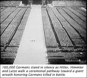 immense Nazi solemnity