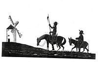 Don_Quixote silhouette