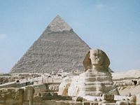 egypt the sphinx at giza