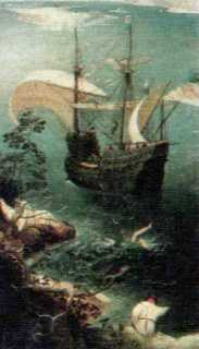 bruegel icarus fragment