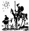 el quijote de picasso
