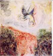 Icarus by Chagall