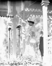 Queen Elizabeth in India
