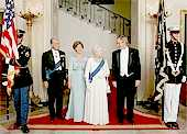 the Queen and Mr President