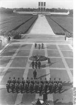Nürnberg Nazi solemnity