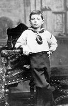 Churchill_aged 7