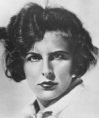 Leni Riefenstahl looking angry