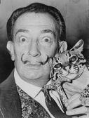 salvador_dali and cat