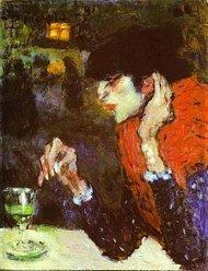 picasso absinth drinker 1901
