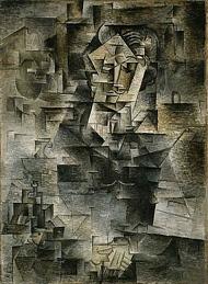 Picasso Portrait of Daniel-Henry Kahnweiler 1910