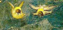 giotto two angels