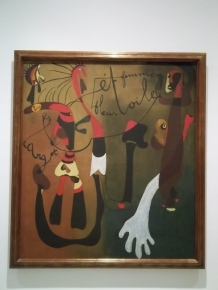 Miró at Queen Sofia Museum Madrid